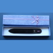 BOHEMIA gift set glass nail files Swarovski pattern 16 Gift sets Swarovski