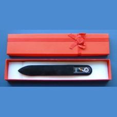 BOHEMIA gift set glass nail files Swarovski pattern 6 Gift sets Swarovski