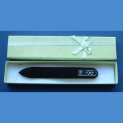 BOHEMIA gift set glass nail files Swarovski pattern 18 Gift sets Swarovski