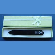 BOHEMIA gift set glass nail files Swarovski pattern 7 Gift sets Swarovski
