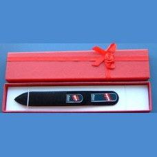BOHEMIA gift set glass nail files Swarovski 2SW pattern 15-26 Gift sets Swarovski