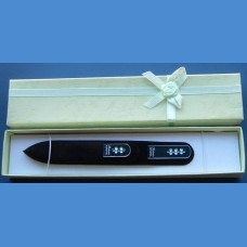 BOHEMIA gift set glass nail files Swarovski 2SW pattern 16-25 Gift sets Swarovski