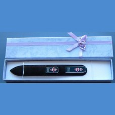 BOHEMIA gift set glass nail files Swarovski 2SW pattern 17-17 Gift sets Swarovski