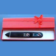 BOHEMIA gift set glass nail files Swarovski 2SW pattern 9-24 Gift sets Swarovski