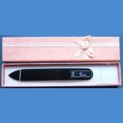 "BOHEMIA Swarovski glass nail file – middle size 140/2mm, letter - ""U"" ALPHABET Swarovski"