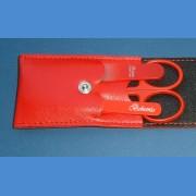 Cestovná manikúra - červená koženka Manikúry