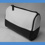 Cosmetic bag black and white