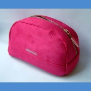 Cosmetic bag pink NEWS