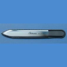 Skleněný pilník na nehty pro pány - střední140/2mm - jednobarva Pro pány