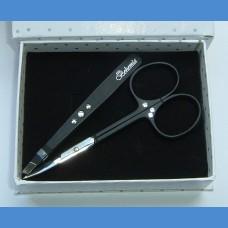 BOHEMIA Men's gift set Swarovski Tweezer + Scissor