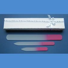 BOHEMIA dárková sada skleněných pilníků 1+1+1 Dárkové sady pilníků